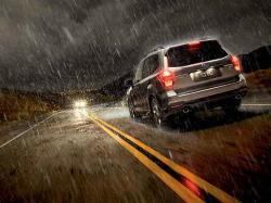 رانندگی در باران